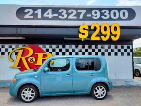 2010 Nissan cube for sale at www.rnbfinance.com in Dallas TX