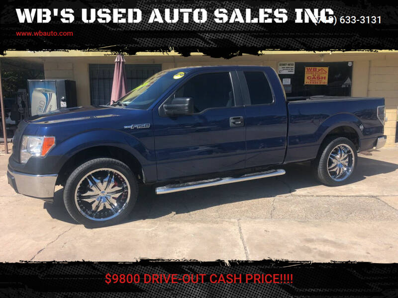 2011 Ford F-150 for sale at WB'S USED AUTO SALES INC in Houston TX