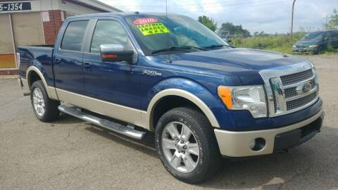 2010 Ford F-150 for sale at AutoBoss PRE-OWNED SALES in Saint Clairsville OH