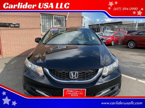 2013 Honda Civic for sale at Carlider USA in Everett MA