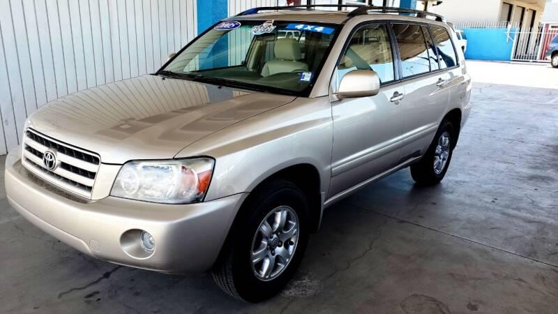 2005 Toyota Highlander for sale at Bob Ross Motors in Tucson AZ