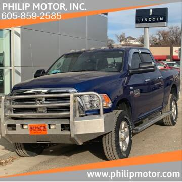 2015 RAM Ram Pickup 3500 for sale at Philip Motor Inc in Philip SD