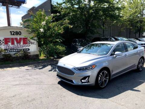 2020 Ford Fusion for sale at Five Brothers Auto Sales in Roswell GA