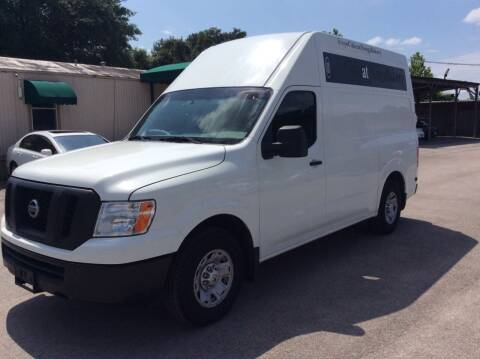 2015 Nissan NV Cargo for sale at OASIS PARK & SELL in Spring TX