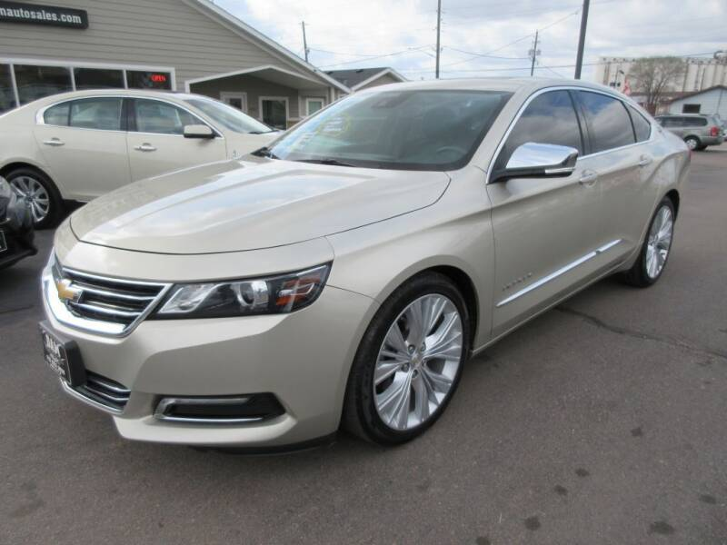 2015 Chevrolet Impala for sale at Dam Auto Sales in Sioux City IA