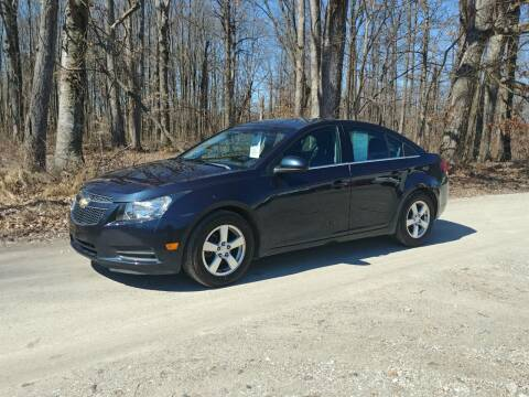 2014 Chevrolet Cruze for sale at Doyle's Auto Sales and Service in North Vernon IN
