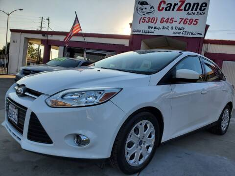 2012 Ford Focus for sale at CarZone in Marysville CA
