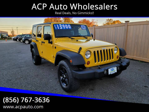 2008 Jeep Wrangler Unlimited for sale at ACP Auto Wholesalers in Berlin NJ