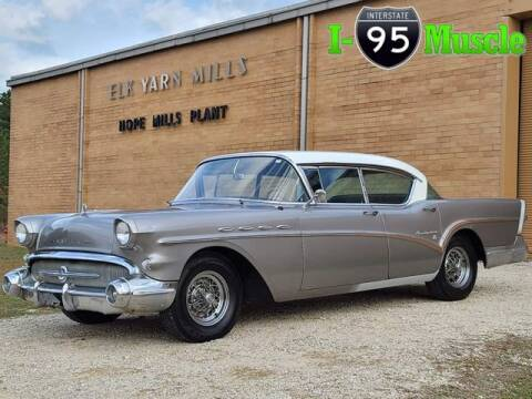 1957 Buick Roadmaster for sale at I-95 Muscle in Hope Mills NC