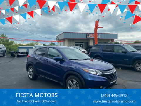 2016 Honda HR-V for sale at FIESTA MOTORS in Hagerstown MD