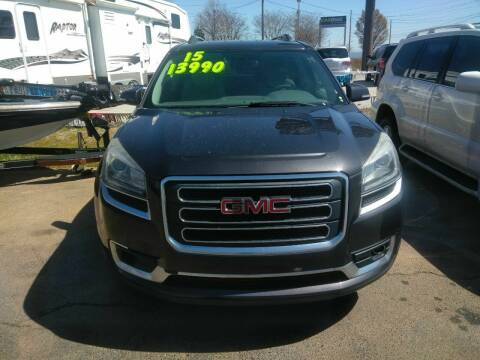 2015 GMC Acadia for sale at AUTOPLEX 528 LLC in Huntsville AL