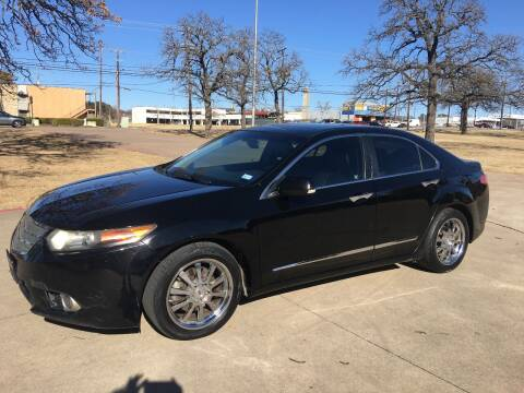 2013 Acura TSX for sale at RP AUTO SALES & LEASING in Arlington TX