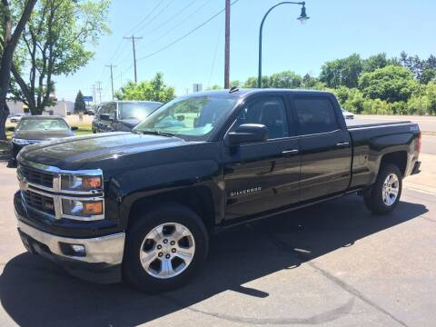 2014 Chevrolet Silverado 1500 for sale at Premier Motors LLC in Crystal MN