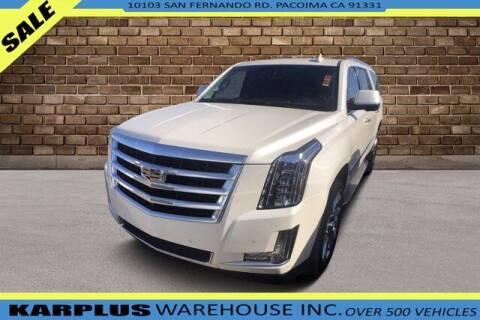 2015 Cadillac Escalade ESV for sale at Karplus Warehouse in Pacoima CA