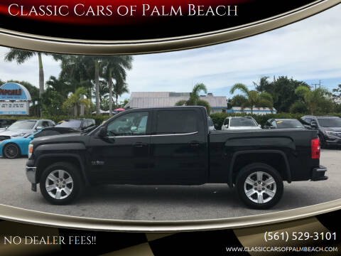 2015 GMC Sierra 1500 for sale at Classic Cars of Palm Beach in Jupiter FL
