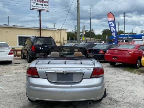 2004 Chrysler Sebring for sale at Mego Motors in Orlando FL
