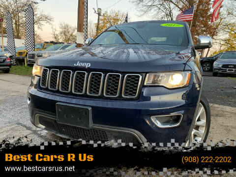 2017 Jeep Grand Cherokee for sale at Best Cars R Us in Plainfield NJ