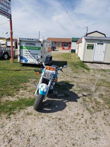 2002 Honda VTX for sale at P & T SALES in Clear Lake IA