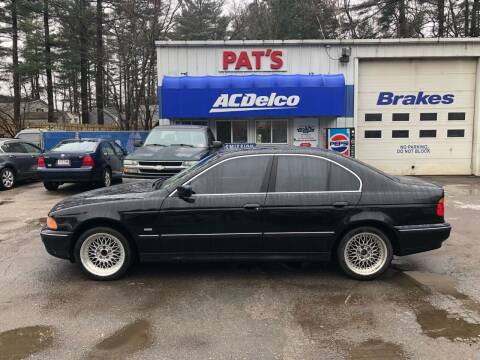 1999 BMW 5 Series for sale at Route 107 Auto Sales LLC in Seabrook NH