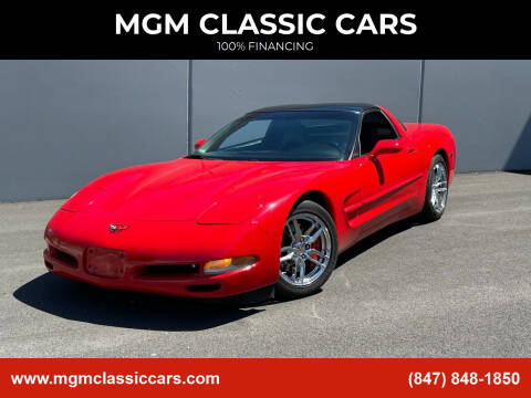 1998 Chevrolet Corvette for sale at MGM CLASSIC CARS in Addison, IL