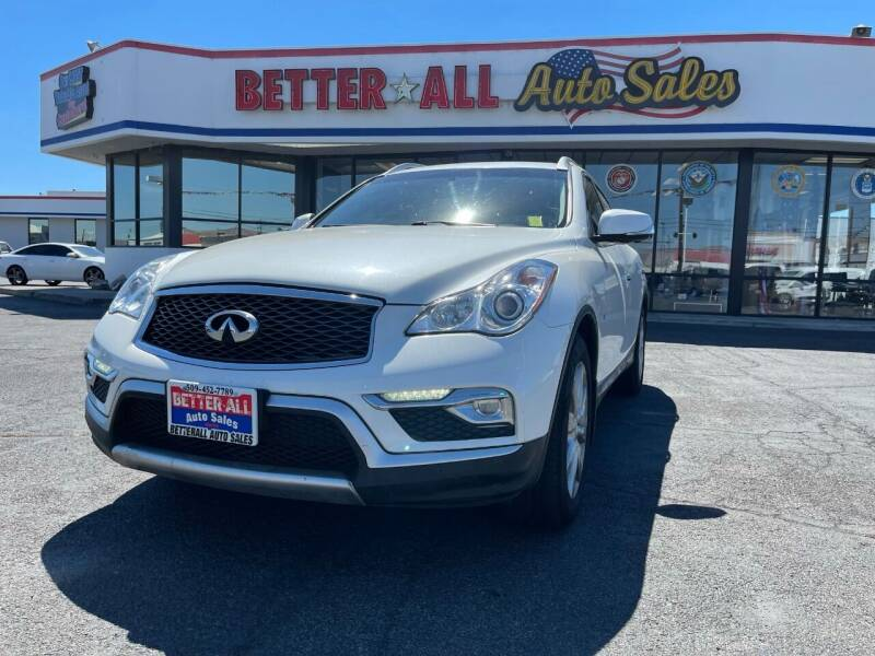 2017 Infiniti QX50 for sale at Better All Auto Sales in Yakima WA