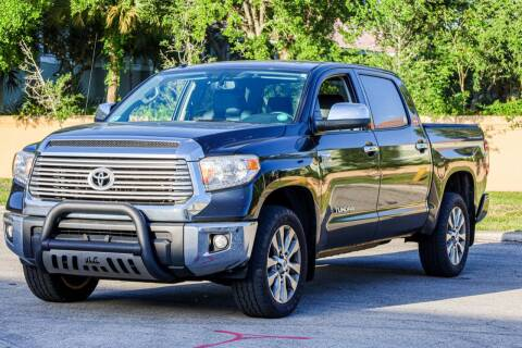 2016 Toyota Tundra for sale at Easy Deal Auto Brokers in Hollywood FL