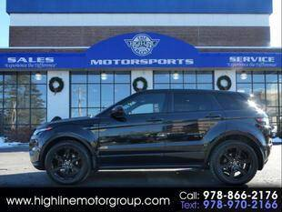 2014 Land Rover Range Rover Evoque for sale at Highline Group Motorsports in Lowell MA