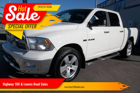 2009 Dodge Ram Pickup 1500 for sale at Highway 100 & Loomis Road Sales in Franklin WI