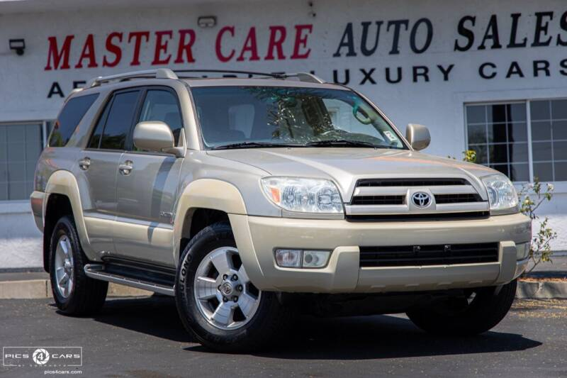 2003 Toyota 4Runner for sale at Mastercare Auto Sales in San Marcos CA