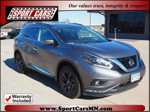 2018 Nissan Murano for sale at SPORT CARS in Norwood MN