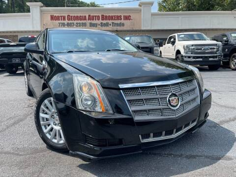 2012 Cadillac CTS for sale at North Georgia Auto Brokers in Snellville GA