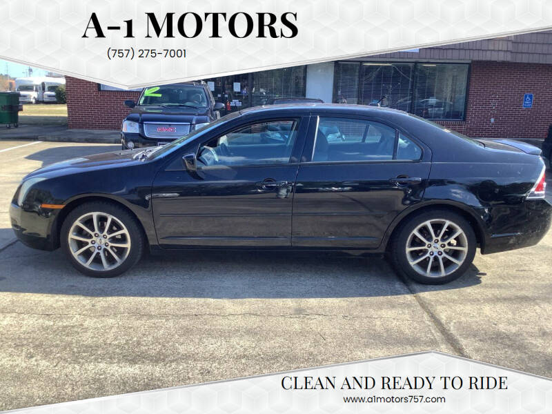 2008 Ford Fusion for sale at A-1 Motors in Virginia Beach VA