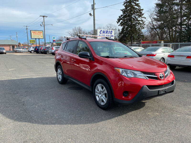 2014 Toyota RAV4 for sale at Chris Auto Sales in Springfield MA