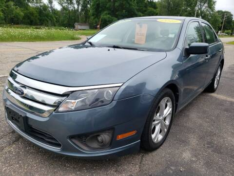 2012 Ford Fusion for sale at Hwy 13 Motors in Wisconsin Dells WI