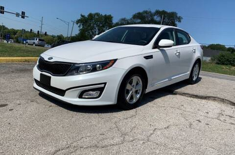 2014 Kia Optima for sale at InstaCar LLC in Independence MO
