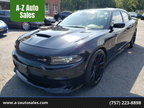 2016 Dodge Charger for sale at A-Z Auto Sales in Newport News VA