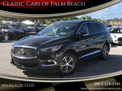 2020 Infiniti QX60 for sale at Classic Cars of Palm Beach in Jupiter FL