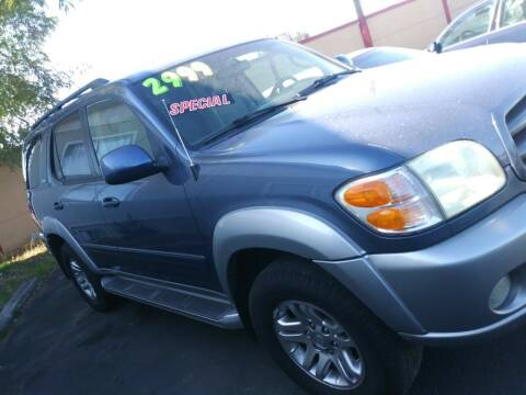 2004 Toyota Sequoia for sale at Marvelous Motors in Garden City ID