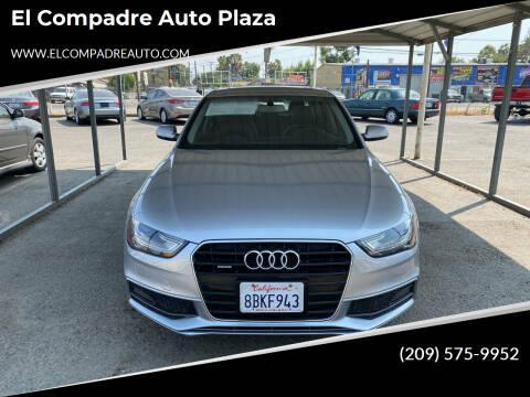 2015 Audi A4 for sale at El Compadre Auto Plaza in Modesto CA
