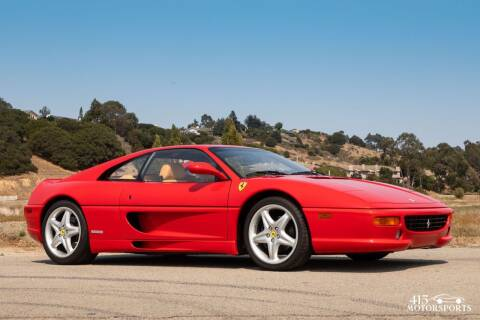 1998 Ferrari F355 for sale at 415 Motorsports in San Rafael CA