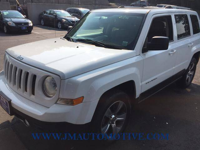 2016 Jeep Patriot for sale at J & M Automotive in Naugatuck CT