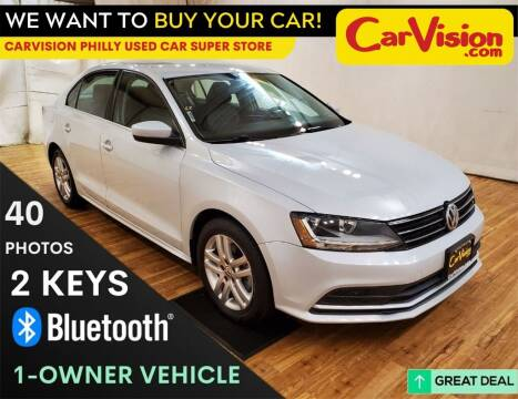 2017 Volkswagen Jetta for sale at Car Vision Mitsubishi Norristown - Car Vision Philly Used Car SuperStore in Philadelphia PA