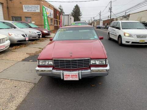 1993 Cadillac DeVille for sale at Frank's Garage in Linden NJ