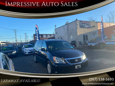 2008 Honda Odyssey for sale at Impressive Auto Sales in Philadelphia PA
