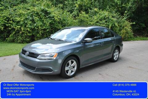2013 Volkswagen Jetta for sale at Or Best Offer Motorsports in Columbus OH