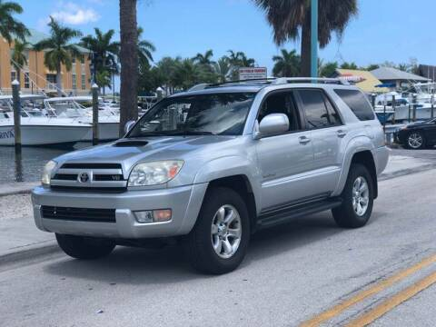 2005 Toyota 4Runner for sale at L G AUTO SALES in Boynton Beach FL