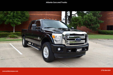 2015 Ford F-250 Super Duty for sale at Atlanta Cars and Trucks in Kennesaw GA