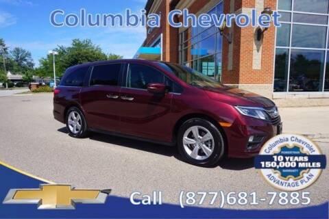 2019 Honda Odyssey for sale at COLUMBIA CHEVROLET in Cincinnati OH
