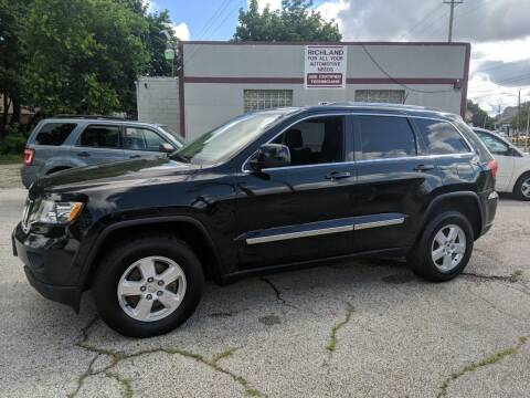 2012 Jeep Grand Cherokee for sale at Richland Motors in Cleveland OH