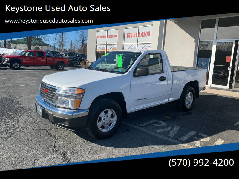 2005 GMC Canyon for sale at Keystone Used Auto Sales in Brodheadsville PA